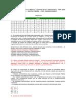 PROVA Assistente Técnico-Administrativo 2012