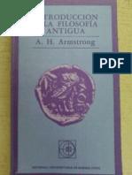 ARMSTRONG a.H. - Introduccion a La Filosofia Antigua (1)