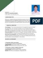 Resume of Jeko Azad Lotus