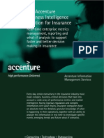 The Accenture Business Intelligence Solution for Insurance