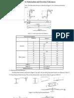 MBMA Fabricate & Erection Tolerance 18.01.10