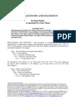 Bug Taxonomy & Stats (Bugtaxst Bbeizer)
