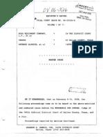 Hoss v Alardin - 2008 Complete Trial Transcript