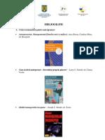 Bibliografie Carti Recomandate Pentru Antreprenori