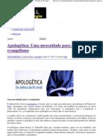 Apologética_ Uma necessidade para o evangelismo _ Portal da Teologia.pdf