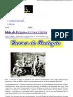 Ideia de Origem e Crítica Teórica _ Portal da Teologia.pdf