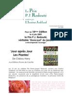 393 - CP Palmarès PJ Redouté 2009