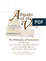 The Philosophy of Restoration
