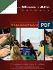 Programme Des Etudes 2012