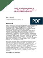 Aproximación al proceso histórico de asentamiento - colonización y producción del Delta (Galafassi Guido)
