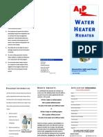 Water Heater Program