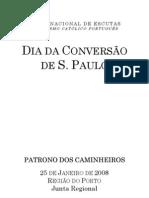 132 Sao Paulo Patrono Dos Caminheiros