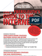 Colorado Bar Internet Research MCLE