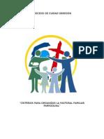 Pastoral Familiar Criterios Para Organizar La Pastoral Familiar