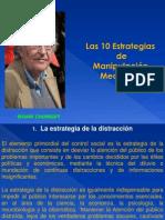 CHOMSKY Y LA MANIPULACIÓN MEDIÁTICA
