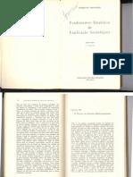 Florestan Fernandes - Os problemas da indução