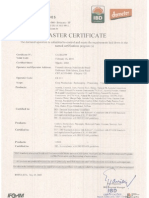 zakadka pod  zdrowiem - suplementy - nutrilite  - kontrola i certyfikaty - ibd 2010 brazil certificate