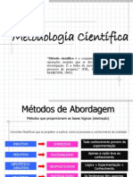 23225906 METODOS de ABORDAGEM Indutivo Dedutivo Hipotetico Dedutivo