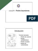 Tema 4 – Redes Bayesianas Introducción También Llamadas