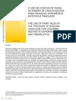 Evaldo O uso de contos de fadas no ensino de língua inglesa para crianças experiência estética e tradução