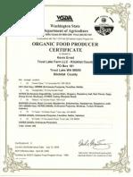 zakadka pod  zdrowiem - suplementy - nutrilite  - kontrola i certyfikaty - nop 2009 washington certificate 2