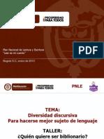 Taller Diversidad Discursiva