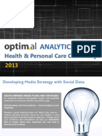 Optimal Analytics Fitbit Data Case Study
