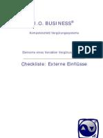 (Checkliste) Elemente eines Variablen Vergütungssystems