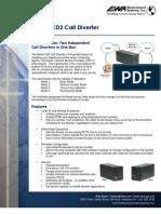 Model CD2 Call Diverter Fact Sheet