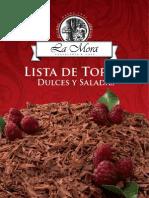 Brochure Tortas