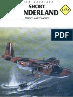 [_] [Paper Model] [Aircraft] [JSC - 721 - Scale 1.72] - GBR - Short Sunderland - V.gbr