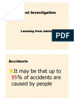 CF Lecture 15b. Accident-Incident Investigation