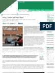Why I Work at Wal-Mart - - MSN Money