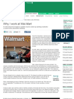 Why I Work at Wal-Mart - - MSN Money