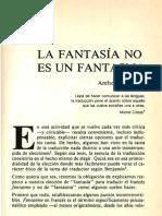 La Fantasia No Es Un Fantasma