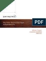 Big Data Beyond the Hype
