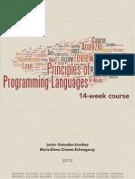 Principles of Programming Languages | ASU 2013