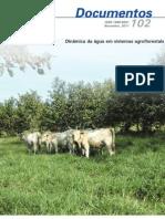 Dinâmica da água em sistemas agroflorestais.
