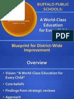 Strategic Plan and reorganization PowerPoint presentation
