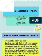 The Social Learning Theory (Tutorial Wk 5)