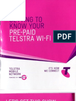4g WIFI Telstra, Mobile Broadband Prepaid