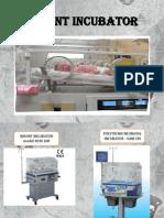 Infant Incubator & electrocardiograph