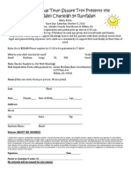 Get Well Charleigh 5k Run Entry Form