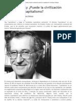Noam Chomsky ¿Puede la civilización sobrevivir al capitalismo_ _ Sociólogos Plebeyos