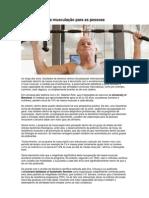 A importância da musculação para as pessoas