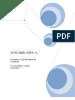 TIPOLOGÍA TEXTUAL 1