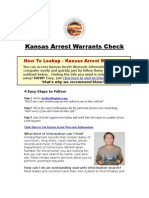 Kansas Arrest Warrants - Arrest Warrants Check