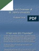 History SJU 2012