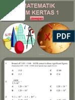 Spm Math k1 Ppdmt