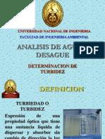 Exposicion de Turbidez